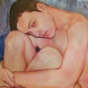 Portrait Of Dustin Roadcap 2016 Art Print