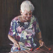 Portrait Of Edwinna Art Print