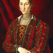 Portrait Of Eleanora Di Toledo Art Print