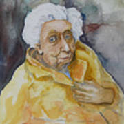 Portrait Of Eudora Welty   Art Print