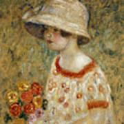 Portrait Of Frances Kilmer Art Print