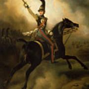 Portrait Of Friedrich Heinrich Art Print