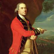 Portrait Of General Thomas Gage Print by John Singleton Copley