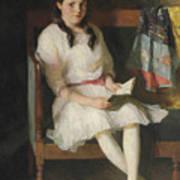 Portrait Of Gertrude Russell Art Print