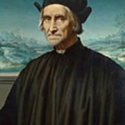 Portrait Of Girolamo Benivieni Art Print