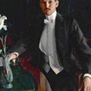 Portrait Of Harald Bildt Art Print