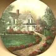 Portrait Of Home Art Print
