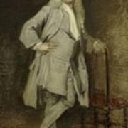 Portrait Of Jan Lepeltak Art Print