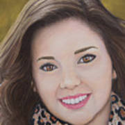 Portrait Of Kaitlyn Art Print