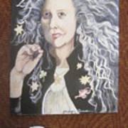 Portrait Of Kiki Smith Art Print