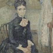 Portrait Of Leonie Rose Charbuy-davy Paris  March  April 1887 Vincent Van Gogh 1853  1890 Art Print
