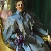 Portrait Of Lilly Eberhard Anheuser Anders Zorn Art Print