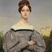 Portrait Of Louise Vernet Art Print