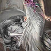 Portrait Of Madame Eugene Doyen Art Print