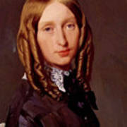 Portrait Of Madame Frederic Reiset 1847 Art Print