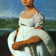 Portrait Of Mademoiselle Riviae 1805 Art Print
