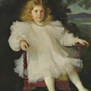 Portrait Of Marjorie Coldwell Westinghouse  Art Print