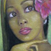 Portrait Of Monica Art Print
