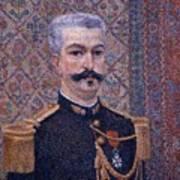 Portrait Of Monsieur Pool 1887 Art Print