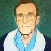 Portrait Of Mr. Roy Moore Art Print
