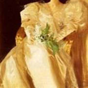 Portrait Of Mrs Eben Richards Anders Zorn Art Print