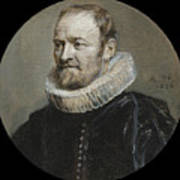 Portrait Of Nicholas Rockox Art Print