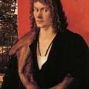 Portrait Of Oswolt Krel 1499 Art Print