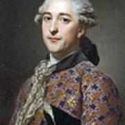 Portrait Of Prince Vladimir Golitsyn Borisovtj Art Print