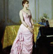 Portrait Of Rose Caron Art Print