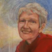 Portrait Of Ruth Sentelle Art Print