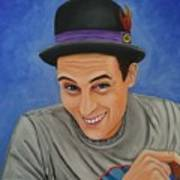 Portrait Of Shawn Davis Mooney  Art Print