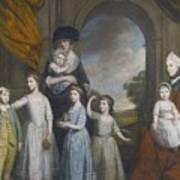 Portrait Of The Children Of William Art Print