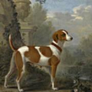 Portrait Of The Duke Of Hamilton's Hound Jewell Art Print