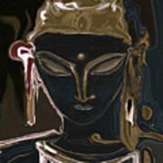 Portrait Of Vajrasattva Art Print