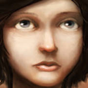 Portrait Of Vela Art Print