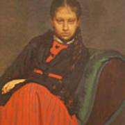 Portrait of Vera Shevtsova Art Print