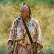 Portrait Of Warrior Bushy Run Art Print