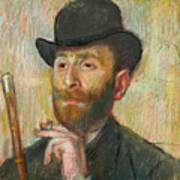 Portrait Of Zacherie Zacharian Art Print
