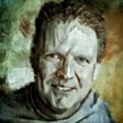 Portrait Painting Cinematographer Camera Operator Behind The Scenes Movie Tv Show Film Chicago Med Art Print