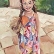 Portrait Painting Art Print
