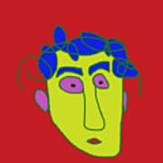 Portrait 01 Art Print