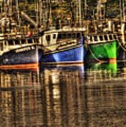 Portsmouth Boats Art Print