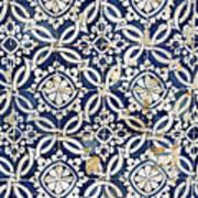 Portuguese Glazed Tiles Art Print