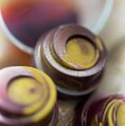 Portwine Infused Chocolates Art Print