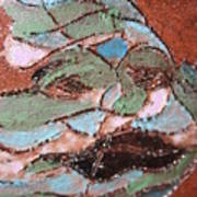 Post Carnival Blues Tile Art Print