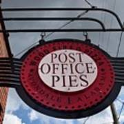 Post Office Pies Art Print