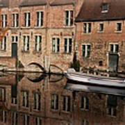 Postcard Canal II Art Print