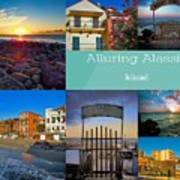 Postcard From Alassio Art Print