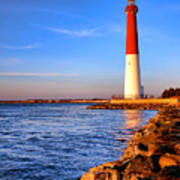 Postcard From Barnegat  Art Print