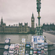 Postcards From Westminster Art Print